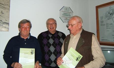 115 Jahre Mitgliedschaft im Schäferhundeverein Heidelberg Sektion Kirchheim-Pfaffengrund